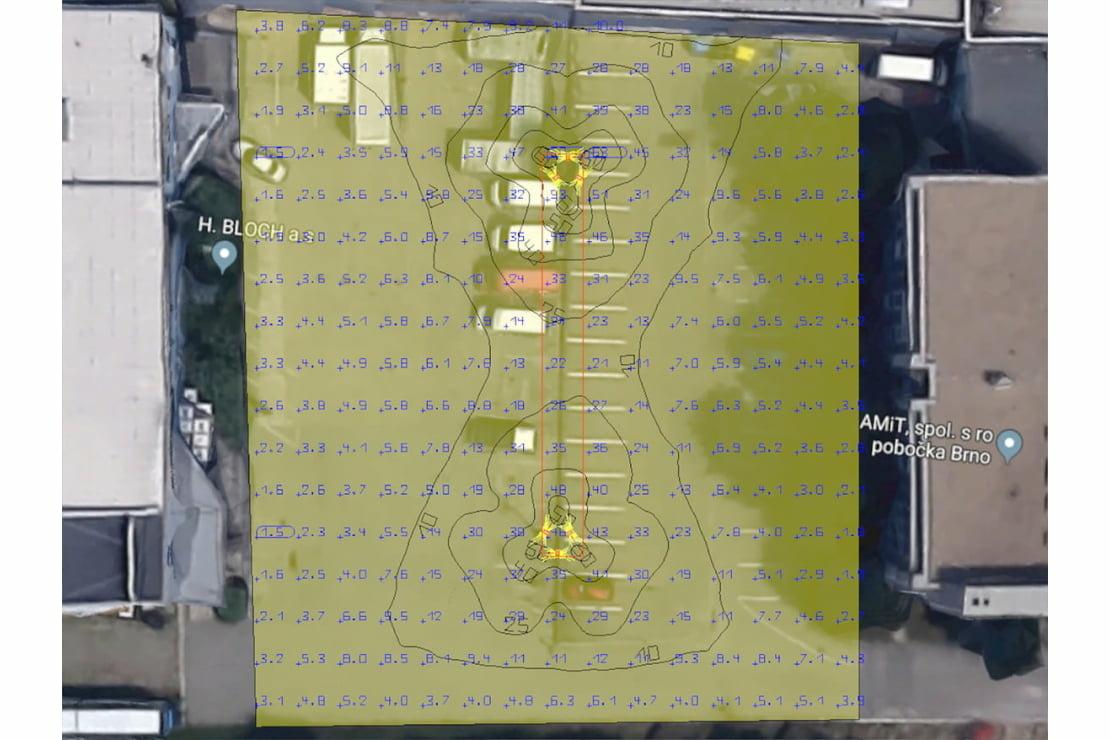 Parkoviště Vídeňská Brno / vizualizace