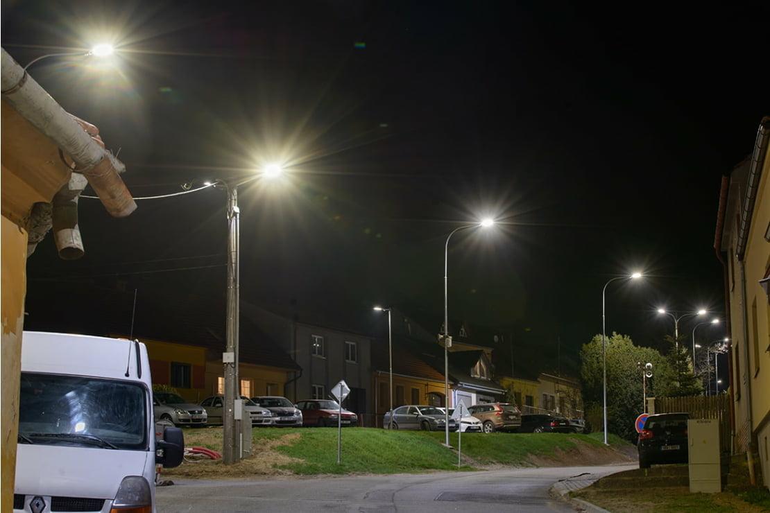 Veřejné osvětlení Čebín