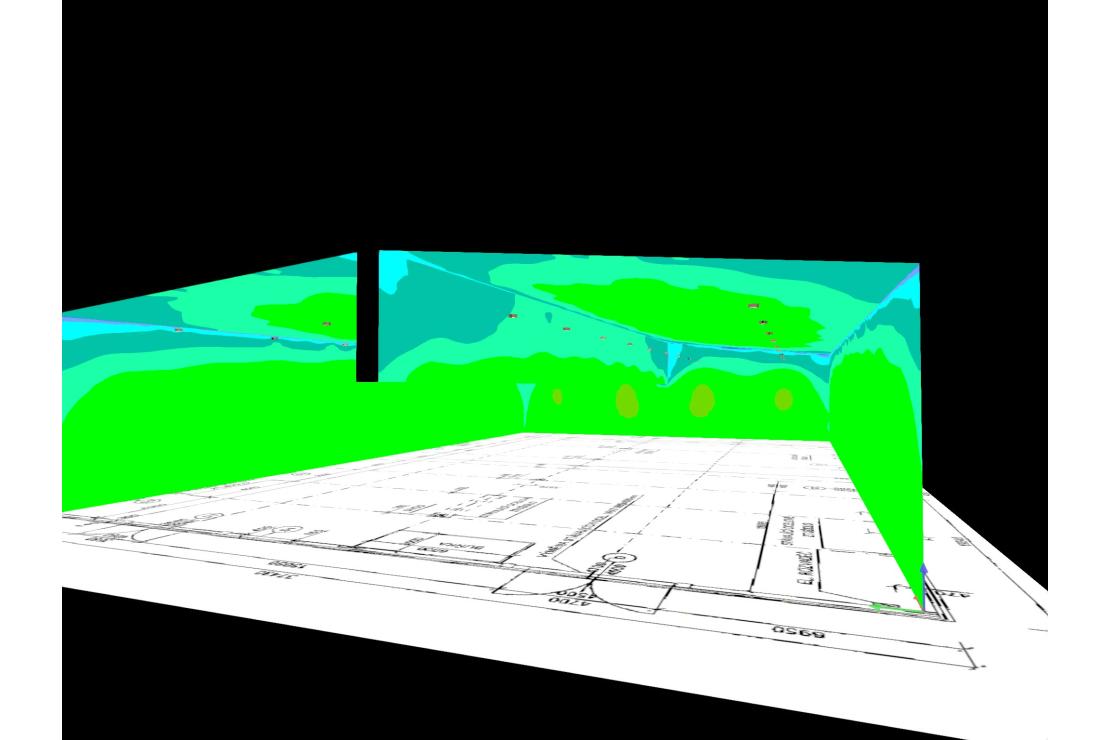 Výrobní hala firmy GENTEC / vizualizace