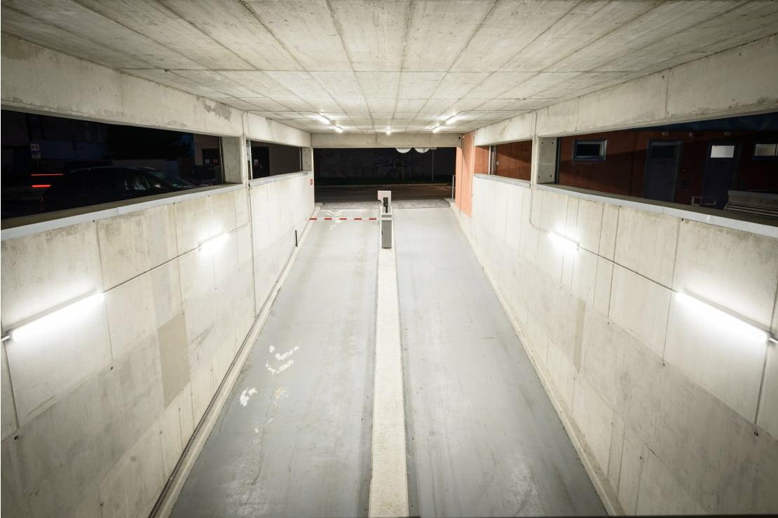 Autobusové nádraží a podzemní garáže
