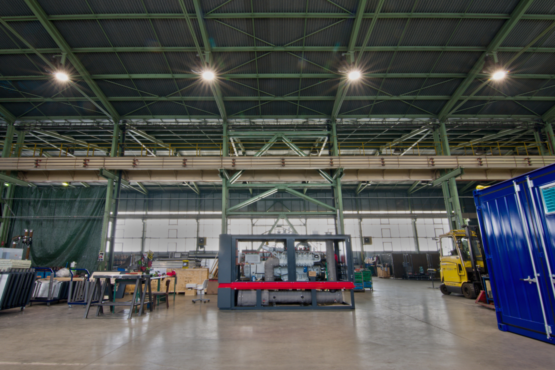 Výrobní hala firmy GENTEC