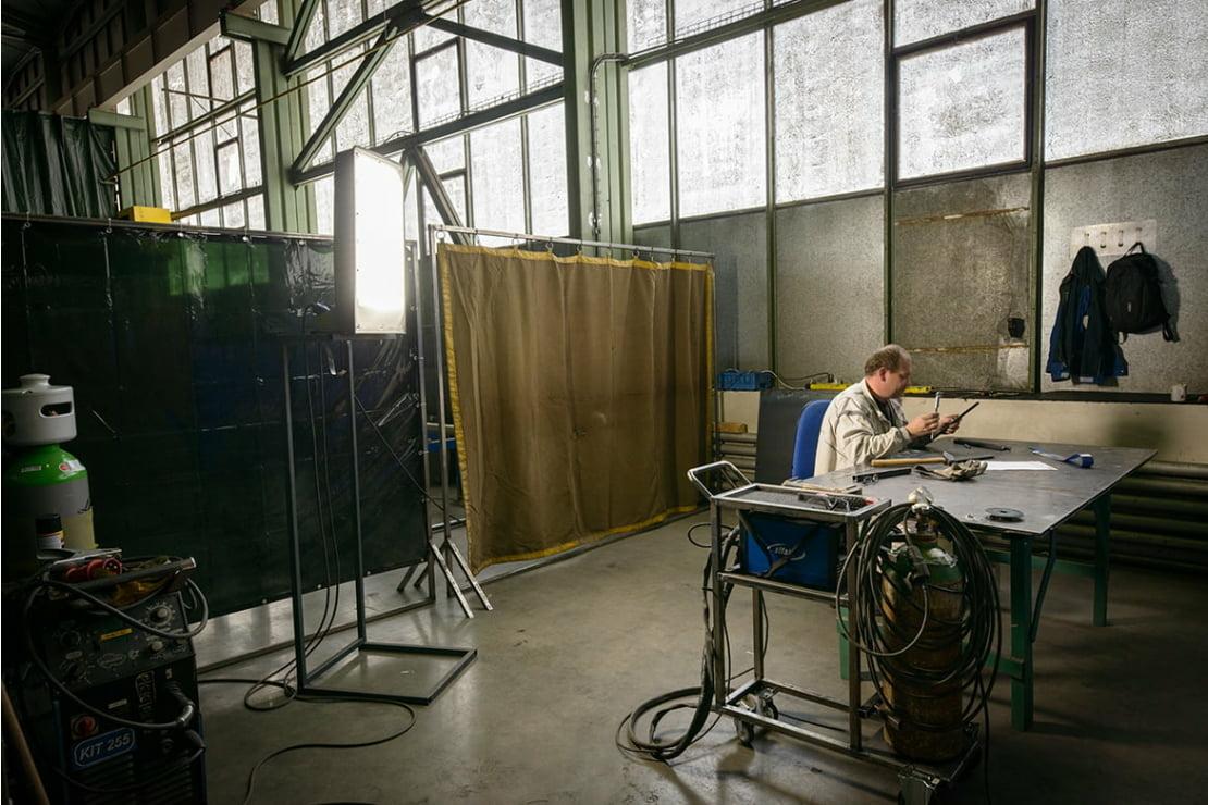 Výrobní hala GENTEC Brno